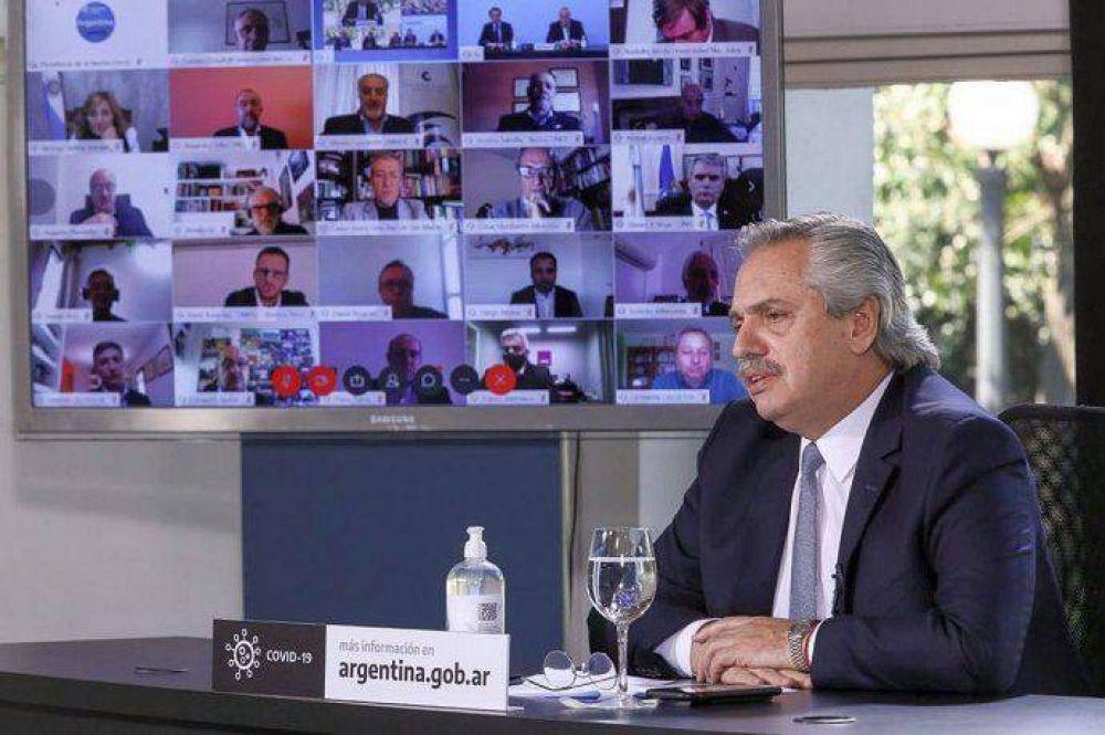 Alberto Fernández se reunirá con BlackRock y otros fondos de inversión