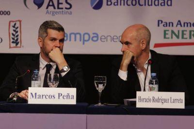 Marcos Peña mantiene el silencio, pero asesora a Mauricio Macri y refuerza su vínculo con Horacio Rodríguez Larreta