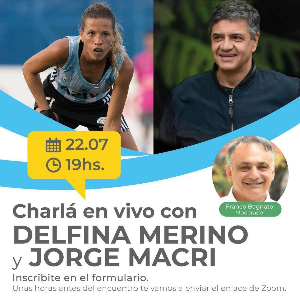 Encuentro abierto entre Jorge Macri y Delfina Merino