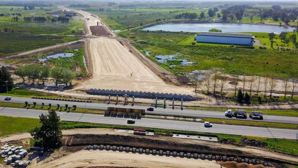 Camino del Buen Ayre: Avanzan las obras de extensión