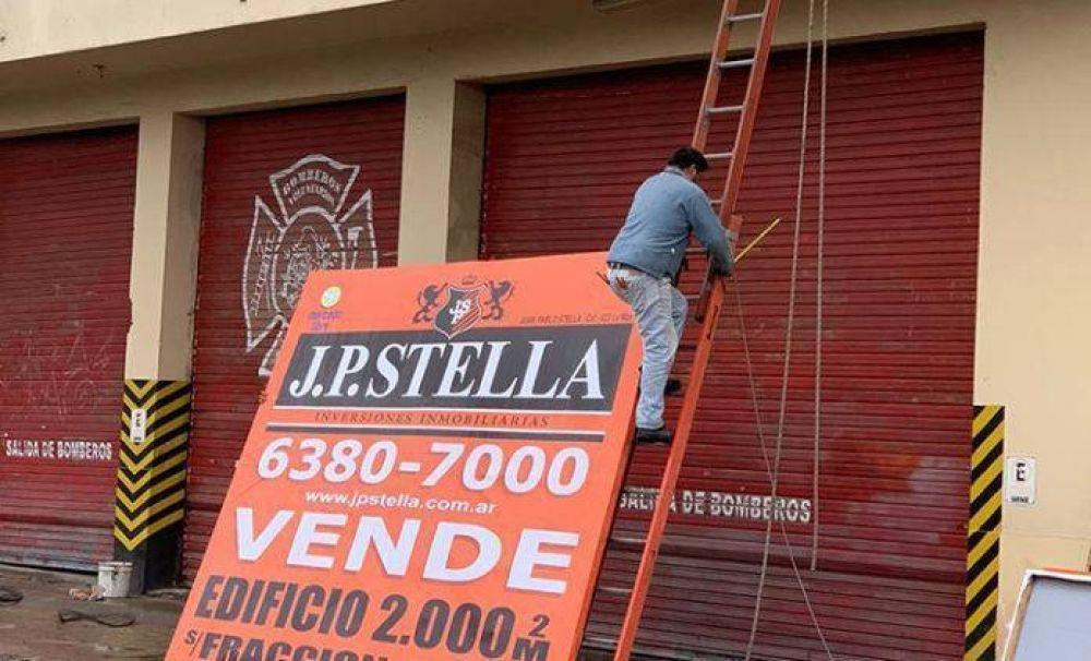 """Reunión entre la municipalidad de La Matanza y bomberos: """"Si el viernes no hay solución, ponemos en venta el cuartel nuevamente"""""""
