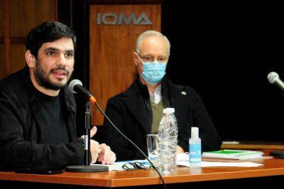 Convocan a la Legislatura al titular de IOMA a explicar el conflicto con la Agremiación Médica Platense