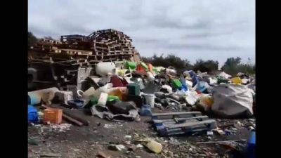 Fuerte aumento de la basura plástica por la cuarentena