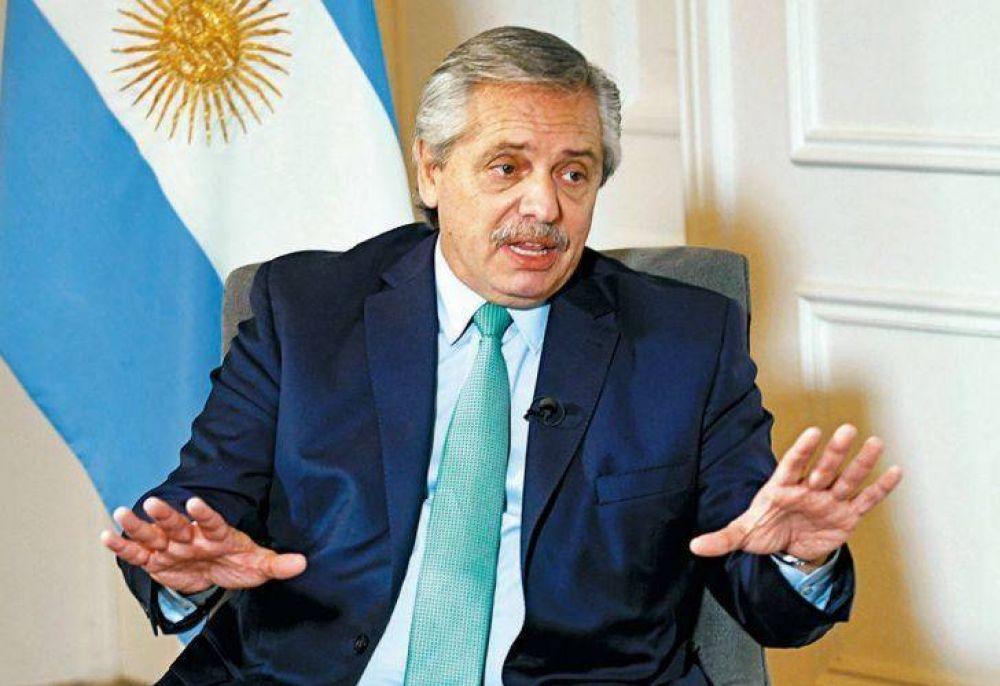Alberto criticó otra vez los planes económicos: