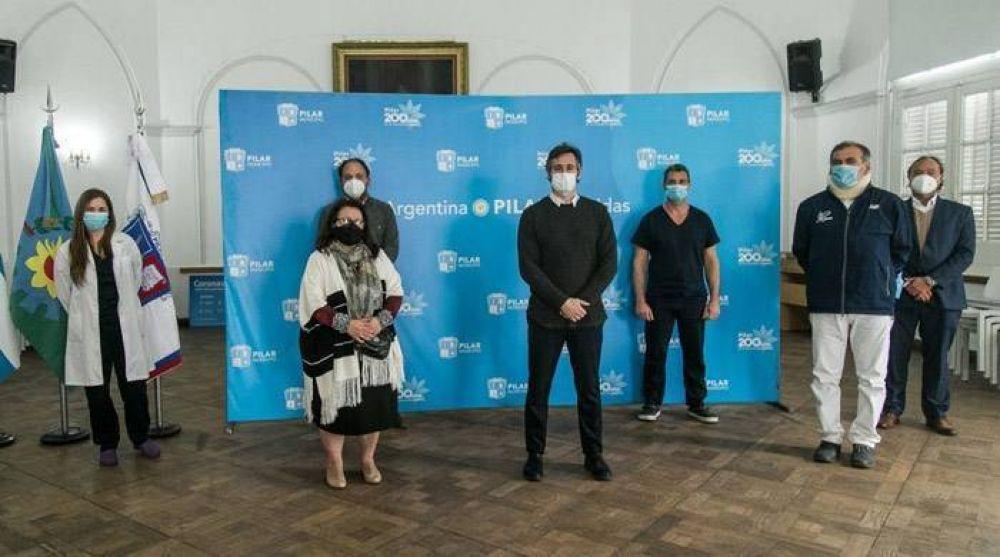 La primera recuperada de Pilar y un médico, unidos por la donación de plasma
