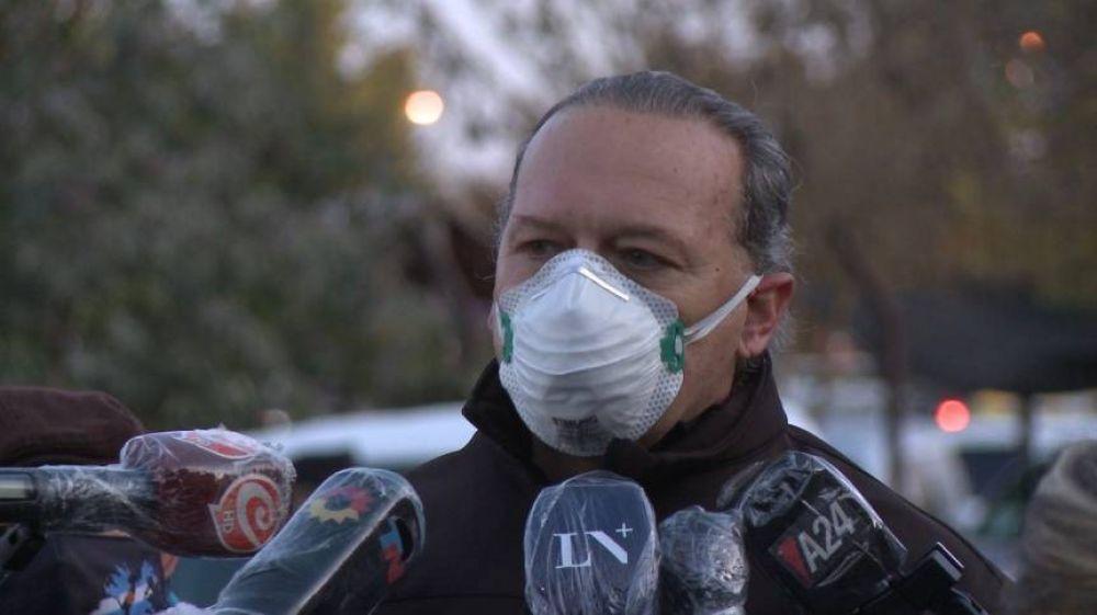Berni visitó al jubilado acusado de matar a un ladrón: Hay 2 detenidos