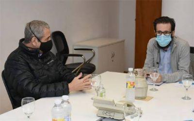 Simone se reunió con el intendente de Avellaneda