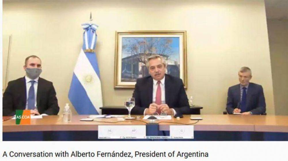 Council of Americas: cómo fue la charla previa entre Alberto Fernández y los empresarios