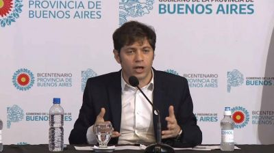"Axel Kicillof proyecta un mega plan para ""reforzar"" la Seguridad bonaerense"