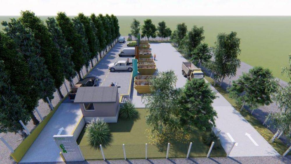 Continúa la construcción del Depósito Voluntario de Residuos en Viedma