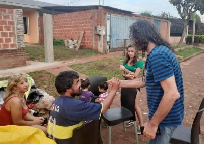 Garupá: denuncian que sin orden judicial desalojaron violentamente a una familia de su vivienda