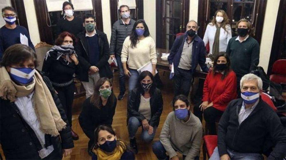 El Frente de Todos porteño pidió informes para saber si hubo pago de sobreprecios en bolsones de comida