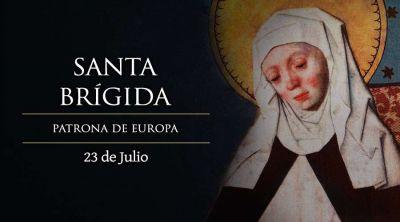 Hoy es fiesta de Santa Brígida, patrona de Europa