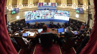 Senado ya sesiona para tratar donación de plasma, telerecetas y un paquete de DNU