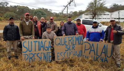 Trabajadores de la embotelladora Palau continúan con sus reclamos
