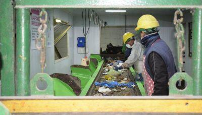 Se retoma la separación en la Planta de Residuos