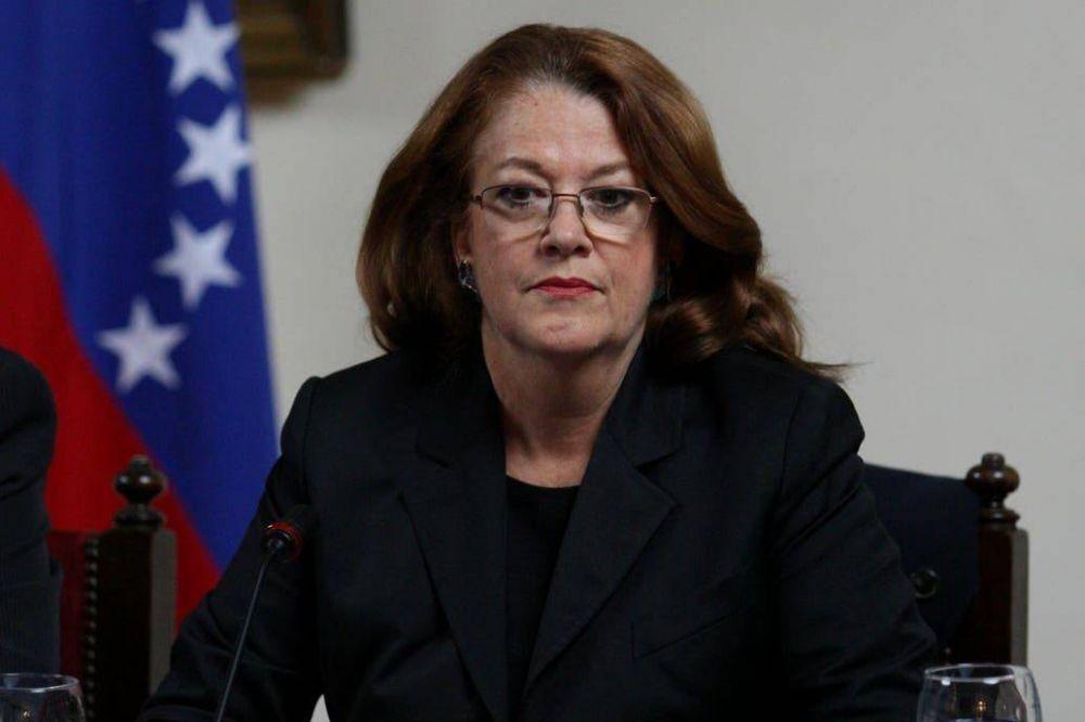 Alicia Castro cuestionó a Felipe Solá por la posición sobre Venezuela