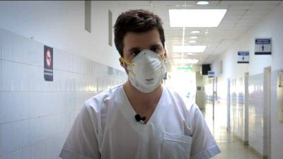 Solidaridad malvinense: un médico del Hospital de Trauma ya donó plasma tres veces