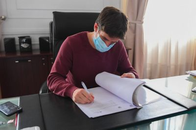 Juan Andreotti descontará por cuarto mes consecutivo el 100% de Seguridad e Higiene a comerciantes sin actividad durante la cuarentena