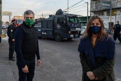Zabaleta aseguró que esperan para la semana próxima el desembarco de fuerzas federales en el Conurbano