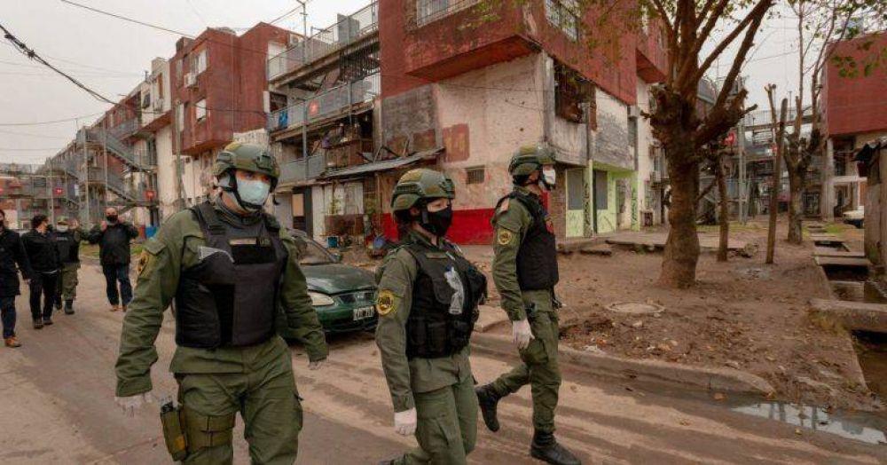 Desde mañana, las Fuerzas Federales patrullarán Avellaneda, Matanza, Quilmes, Brown, Moreno, Echeverría, Varela y Lomas