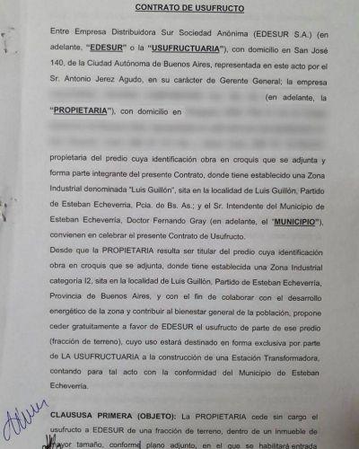 Durísimo: el Municipio de Echeverría denunció a Edesur por incumplimiento de contrato