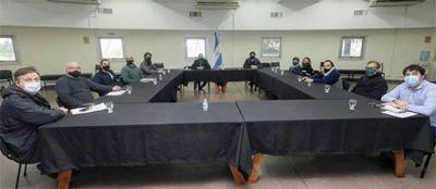 El intendente Ferraresi recibió a la Cámara de Comerciantes de Avellaneda