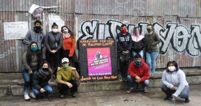 Las juventudes de los Movimientos Populares se manifestaron contra la violencia policial