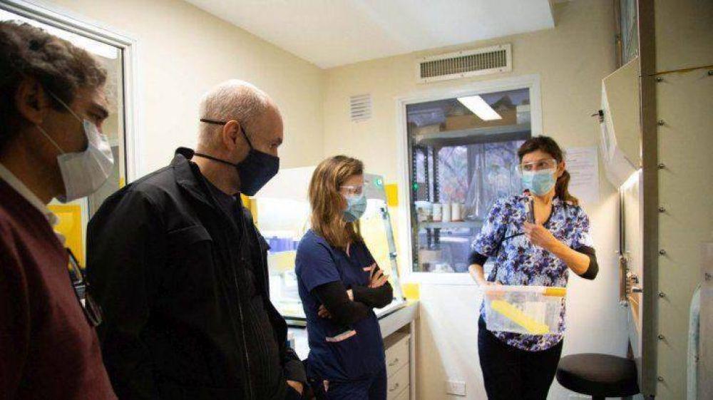 Larreta presentó nuevos kits de testeo y lanzó estudio de seroprevalencia en Ciudad