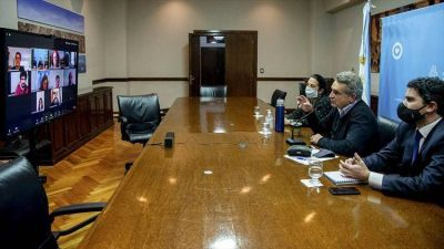 Agustín Rossi y legisladores porteños del Frente de Todos, analizaron la coordinación de tareas de asistencia en la Ciudad