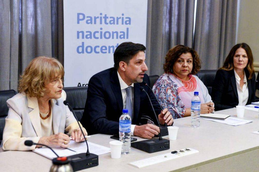 El Ministerio de Educación y gremios docentes aprobaron la Paritaria Federal