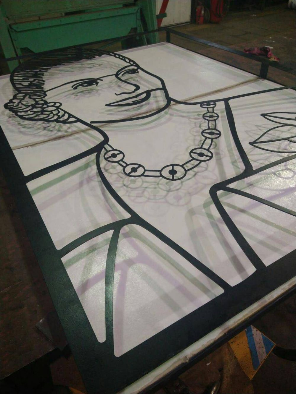Eva Santa Del Pueblo: Colocarán escultura de Eva Perón en recuerdo de su memoria