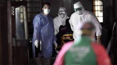 Con 20 nuevas muertes, son 2.913 los fallecimientos por coronavirus en el país
