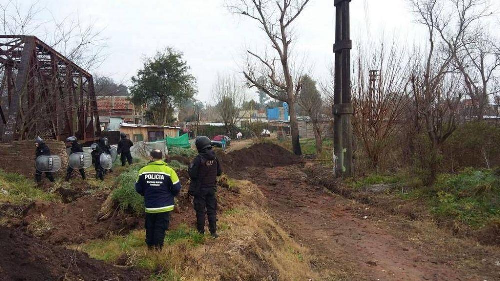 """Usurpaciones: las de La Plata son las más organizadas y """"pesadas"""" dicen en Provincia"""