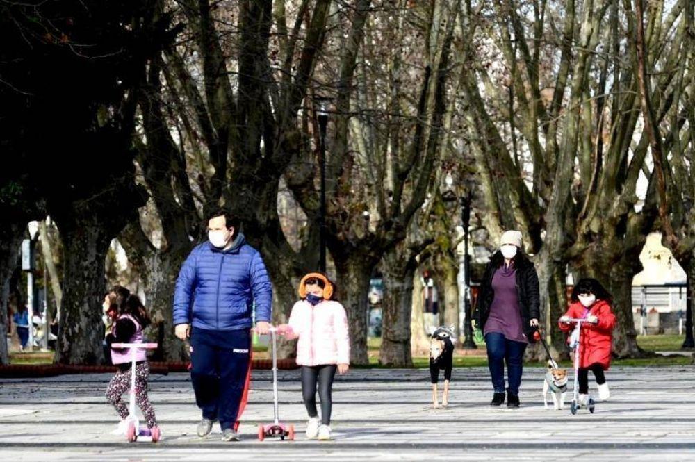 """Salidas Saludables en La Plata: destacan """"alto cumplimiento y responsabilidad"""" de las medidas"""