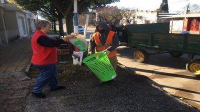 Pavón Arriba lanzó un programa de separación de residuos urbanos sólidos