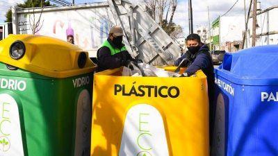 San Fernando continúa con las tareas de reciclaje durante la cuarentena