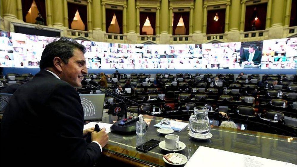 El oficialismo buscará tratar esta semana el proyecto de moratoria y de ampliación del Presupuesto