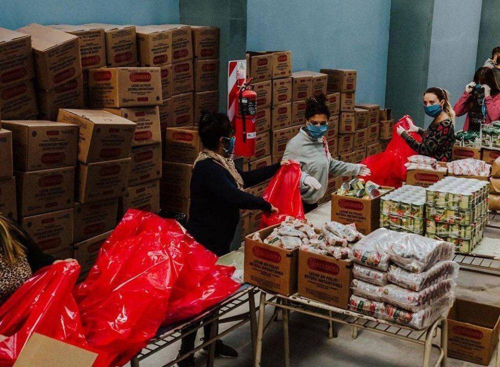 Más de 200 mil vecinos de Lomas recibieron ayuda alimentaria desde el inicio de la pandemia