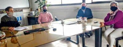 El Colegio de Técnicos se reunió con OSSE