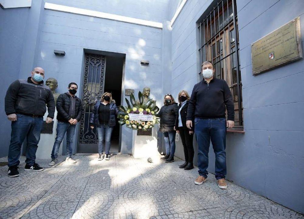 Almirante Brown: se realizó un homenaje a Eva Perón en la sede del Partido Justicialista