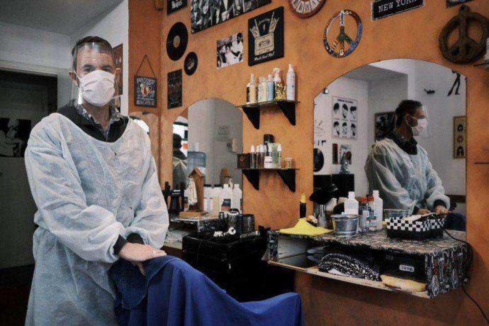 Terapia y peluquerías se suman esta semana a la apertura porteña