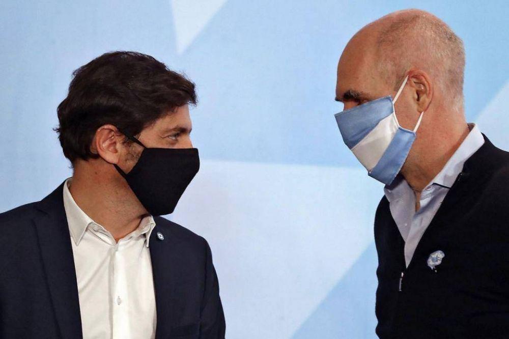 Coronavirus: la tregua entre Horacio Rodríguez Larreta y Axel Kicillof duró lo que un suspiro