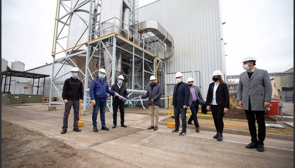 En Córdoba, se inauguró la primera planta de concentrados proteicos vegetales del país