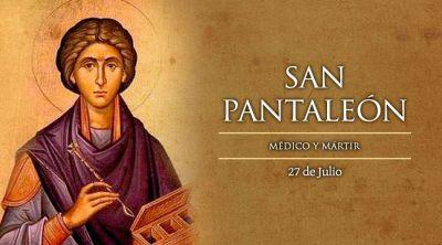 Hoy es fiesta de San Pantaleón, médico mártir cuya sangre se vuelve líquida