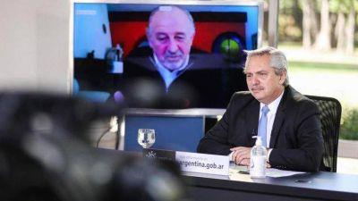 Alberto Fernández pidió la unidad sindical en medio de la creciente tensión entre las dos CTA y la CGT