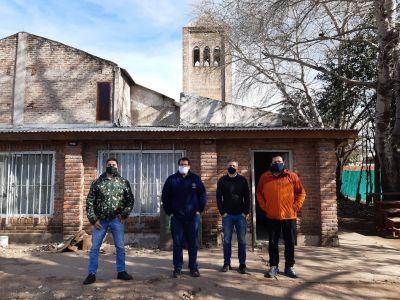 San Miguel: Visita de Federico Berardi, Director Nacional de políticas de primera infancia