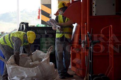 Planta de Nemesio Parma recuperó 6.000 kilos de material reciclable el primer mes