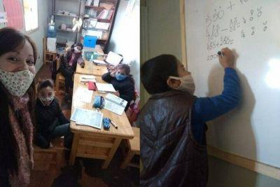El IPRODHA asiste con clases de apoyo en las 508 Viviendas Sustentables de Itaembé Guazú