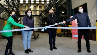 Inauguran Polo Cooperativo de reciclado